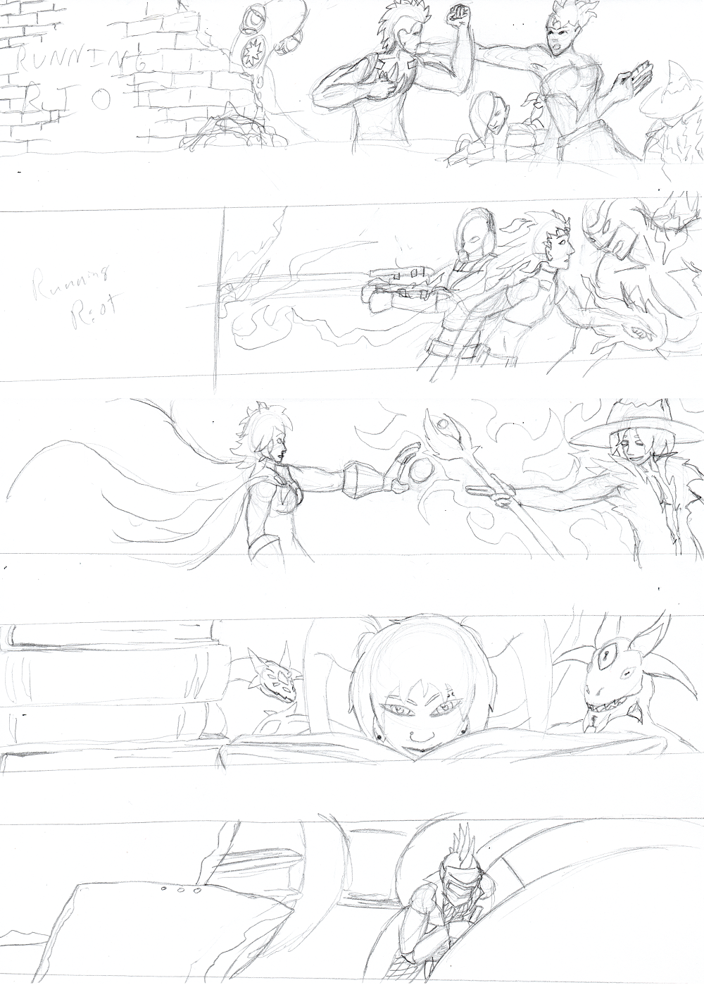 Intermission: New Banner Sketches