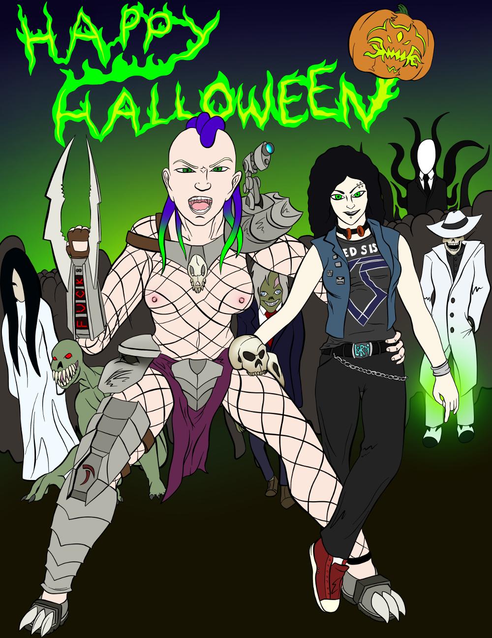 Happy Halloween 2017! [NSFW]